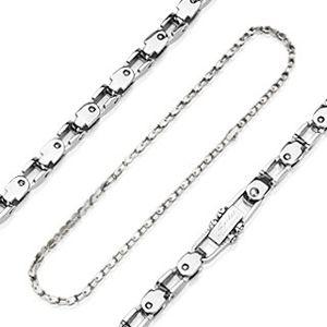Łańcuszek ze stali chirurgicznej, imitacja łańcucha rowerowego